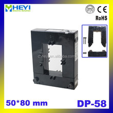 split core ct DP-58 series OPEN type split core current transformer bus bar installation