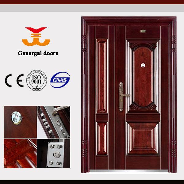 Puertas metalicas exterior puertas identificaci n del for Puertas metalicas para casa