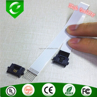 High quality 7pin 8pin 12mm wide 200mm length electronic boards in differential pressure transmitters flat ffc cable