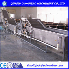 Vegetable Processing Washing Line/Frozen Vegetable And Fruit Production Line/Vegetable IQF Freezing Line Machine