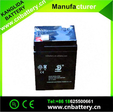 6v4ah Sealed lead acid vrla battery for led light
