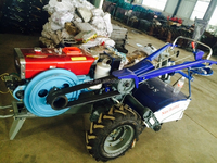 mini tractor S1115 engine 22hp Farm Walking Tractor with rotary tiller with seat hand tractor