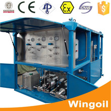 Skid-mounted Oil Well Pipe Pressure Test Equipment for Oil Drilling