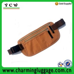 2015 fashion money belt travel money waist bag