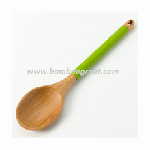 Bamboo Silicone Solid Kitchen Tools and Utensils