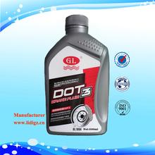 High Performance Car Oil DOT 3, DOT 3 Car Oil