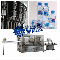 newly design plastic bottle water filling line