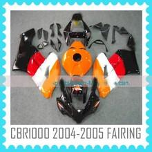China fairings motorcycles ABS Fairing Kit for Honda CBR1000RR 2004 2005 REPSOL