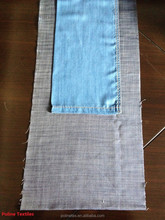 5.2oz 100% tencel slub with cross hatch denim fabric