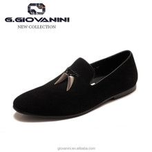 Italian design cow suede luxury brand dress shoes genuine leather italy man shoe