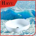 HY5006 moderno oval cerámico lavamanos de baño