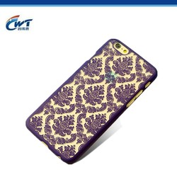 Beautiful phone cases 3d for sublimation iphone 6 housing luxury,colorful 3d cover case for mobile phone accessory