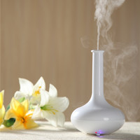 2014 pure white essential oil painting aroma vaporizer/arts and craft