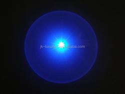 Customized Dog Disc Flashlight Plastic LED playing frisbee