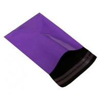 Save Postal Cost Carrier Shopping Purple Mailing Bags