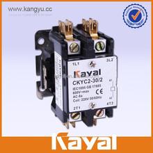 24vac coil voltage 30 & 40amp 2 pole contactor
