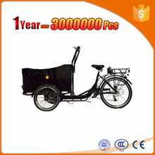 front cabin cargo tricycle with cabin and box for shopping