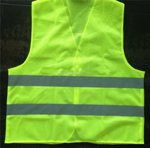 hi vis reflective safety clothing safety warning waist coat with high quality European standard