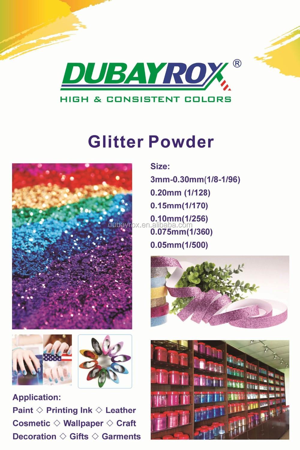 dubayrox glitter powder