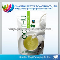 Food grade plastic compound packaging bag for tea