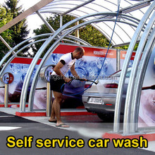2015 CE coin /card operated hot water 80 bar self service car wash /self service car wash self-service station