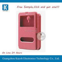 [kayoh] leather slim magnetic pu leather case stand for LG G3