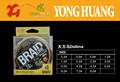 Ligne de pêche, ligne de pêche en nylon, huang yong 2015 pêche. acessory de nouveaux produits