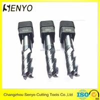 Senyo tungsten carbide 4 flute flat endmill milling cutter for sale