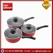 Hot Sale Aluminum Marble Coating Induction Milk Boiling Pot
