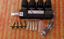 Coche del inyector de combustible lpg / gnc inyector del carril para gas conversión