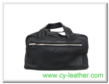 Front zipper bag, Travel Bag Handbag Black