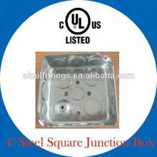 UL listed electrical metal switch box (square)