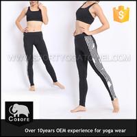 Fitness clothing women wholesale yoga pants with custom logo