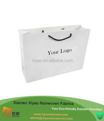 Cheap paper shopping bag with logo
