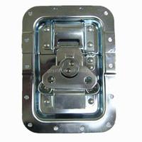 Zinc plated case hardwares btterfly lock for flight case