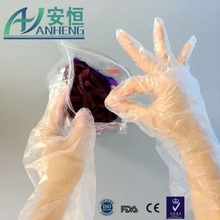 health products disposable pe work glove Protect Hand from Irritation Keep food safe