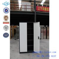 Two door file cabinet metal wardrobe parts for wardrobe sliding door