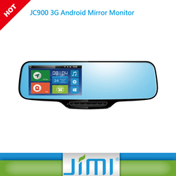 new product JC900 car gps box mobile gps tracker rearview mirror gps android