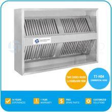 Commercial Kitchen Range Hood - Two Sides Hood, All Stainless Steel, TT-H04