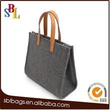 Casual felt shoulder bags, fashion ladies felt carry bags, envelope felt clutch bags for women
