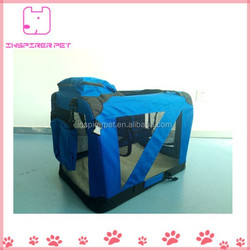 Portable Medium Pet Soft Carrier with Pad And Pouch Bags