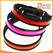 2015 new design pet products colorful pvc dog collar TZ-PET1038 fashion dog collar for pets