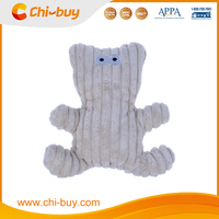 Chi-buy Funny Face Dog Toy With Squeaker, 2015 new Design Short Down Fabric, Free Sample