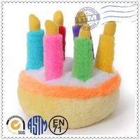 Best price soft stuffed plush cake toy