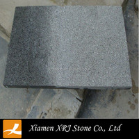 China g654 flamed brushed granite tile
