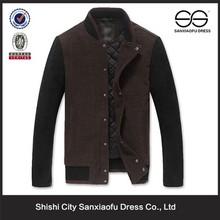 Fabricante profissional por atacado personalizado barato casaco de lã para homens moda homem casaco de lã