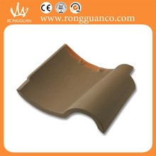 coffee color rustic roof tile