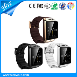 2015 New Arrive GV08S Bluetooth Smart Watch With 2.0MP Camera Support SIM Card Micro TF Card Android Bluetooth Watch