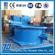 Long life DN900 PN25 butterfly valve price