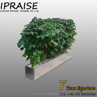 2015 new design tall square flower pots